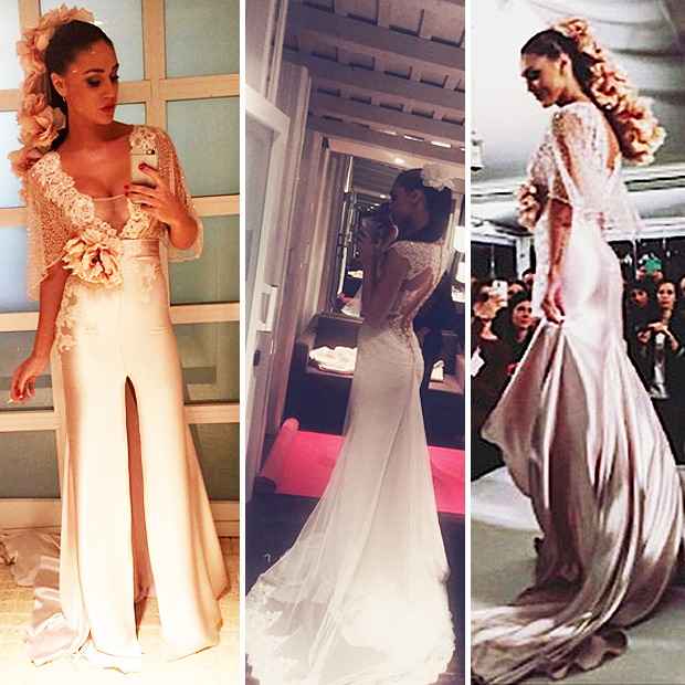 Belen Rodriguez Abito Da Sposa Foto3 Pictures to pin on Pinterest