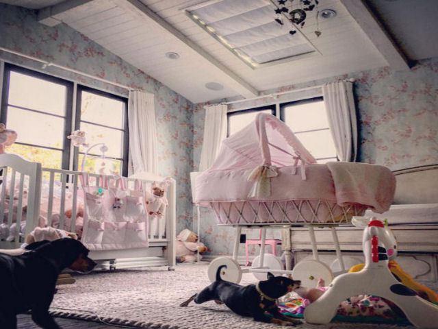 Elisabetta canalis una camera da principessa per skyler eva