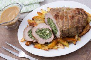 20 ricette per riaccendere il forno vitello ripieno alla for Cucinare diaframma