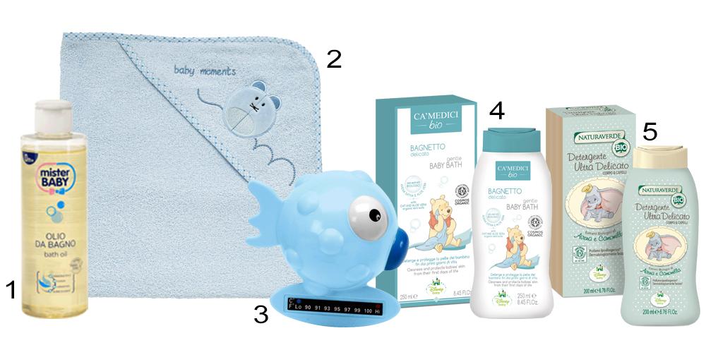 Beauty case per il beb ecco i prodotti indispensabili - Olio bagno neonato ...