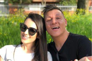 Enzuccio e Valentina Vignali