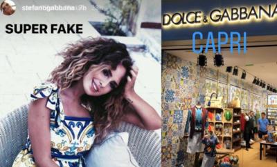 Stefano Gabbana contro Sara Affi Fella