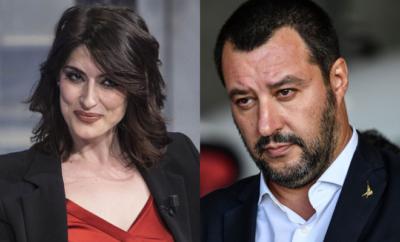 Elisa Isoardi e Matteo Salvini