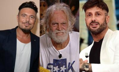 Riccardo Fogli, Gianpaolo Celli e Fabrizio Corona