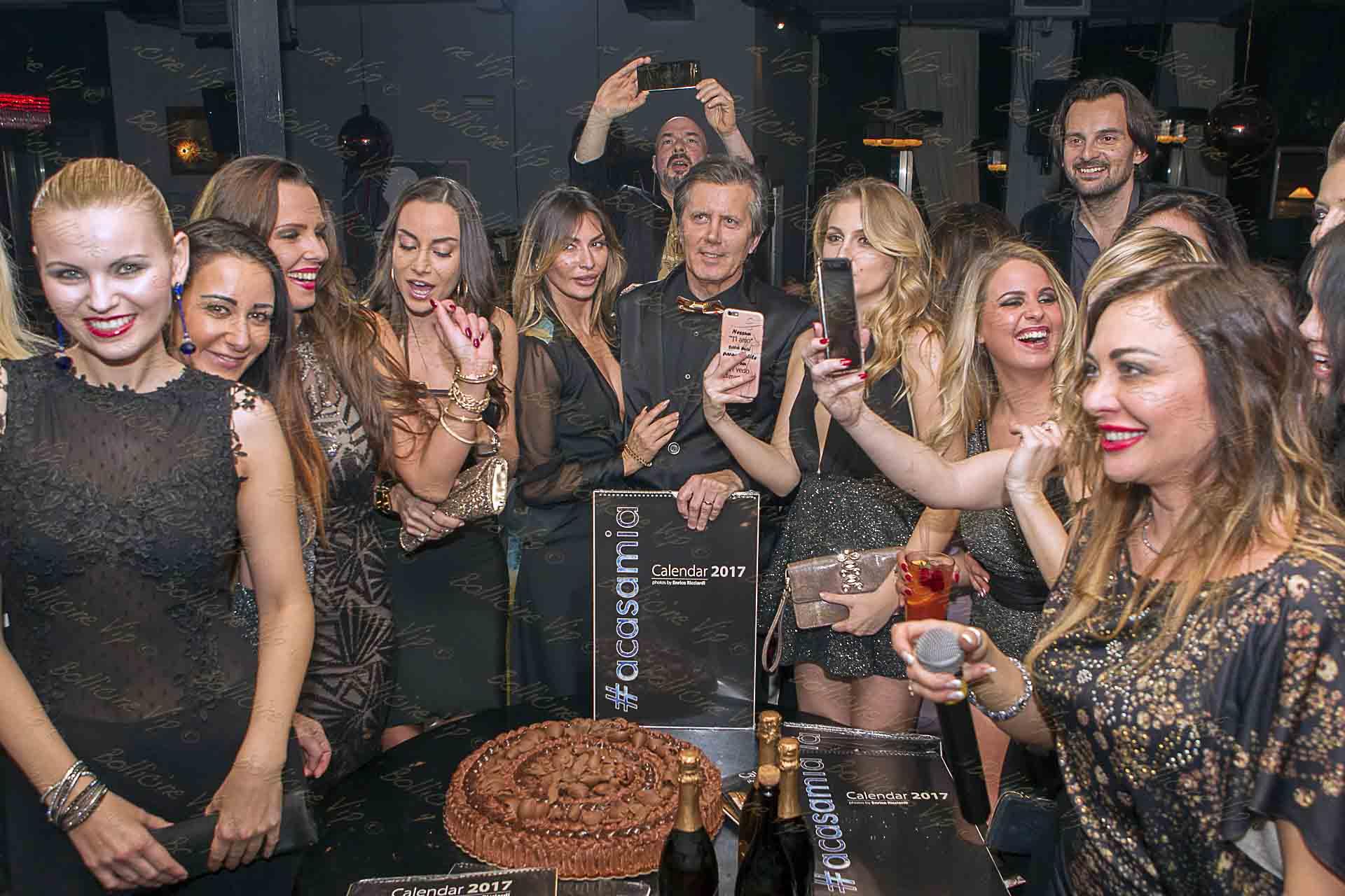 Rosy Dilettuso Calendario.Grande Successo Per Acasamia Calendar Party Bollicine Vip