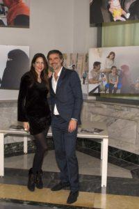 Beppe con Janet De Nardis