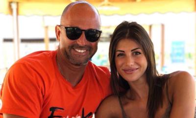 Stefano Bettarini e Nicoletta Larini