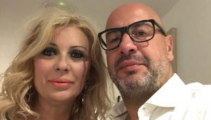Tina Cipollari e Vincenzo Ferrara