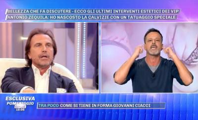 Antonio Zequila e Chicco Nalli lite