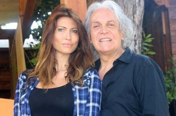 Karin Trentini e Riccardo Fogli
