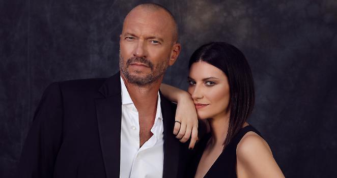 Biagio Antonacci e Laura Pausini