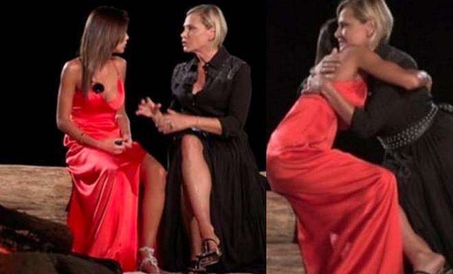 Nicoletta Larini e Simona Ventura