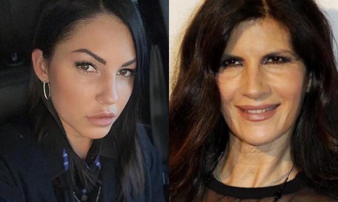 Eliana Michelazzo e Pamela Prati