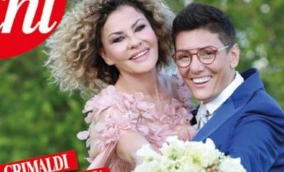 Eva Grimaldi e Imma Battaglia matrimonio