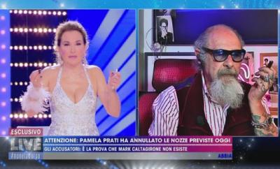 Roberto D'Agostino attacca Pamela Prati
