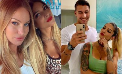 Erica Piamonte, Gianmarco Onestini e Taylor Mega