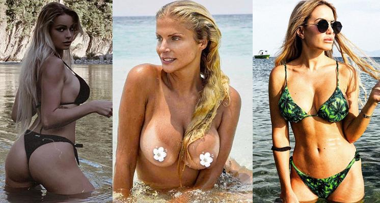 Mercedesz Henger, Francesca Cipriani e Elena Morali