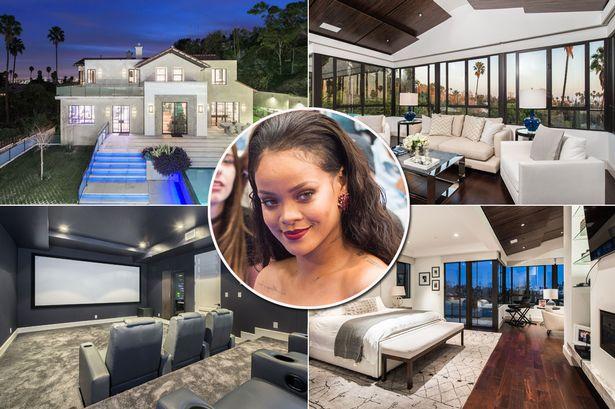 Rihanna villa