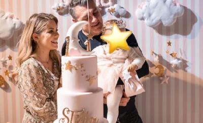 Costanza Caracciolo e Vieri, compleanno Stella