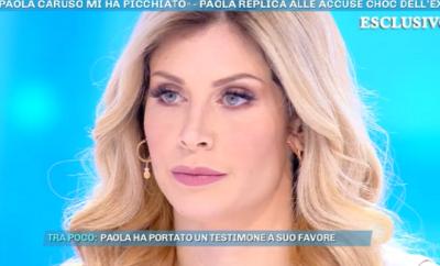 Paola Caruso, Domenica Live