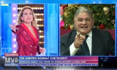 lite Barbara d'Urso e Sergio Vessicchio