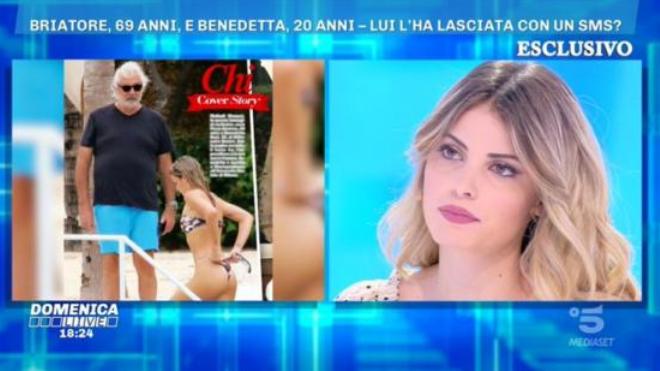Domenica Live, Benedetta Bosi