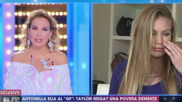 Live, Taylor e Barbara d'Urso