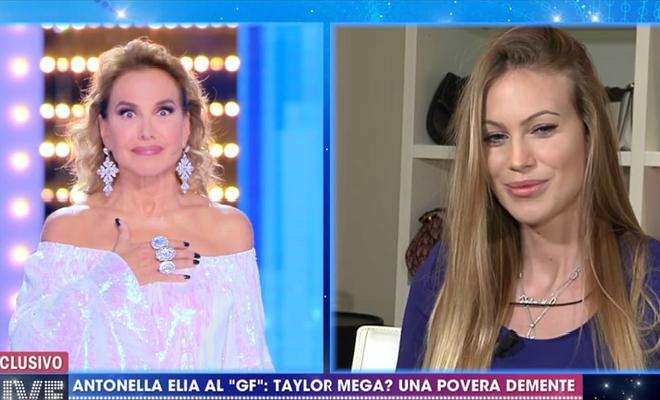 Taylor Mega contro Barbara d'Urso