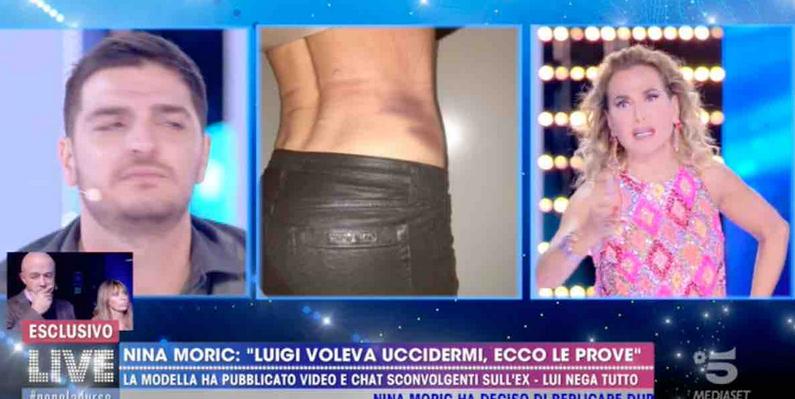 Favoloso attacca Nina Moric a Live