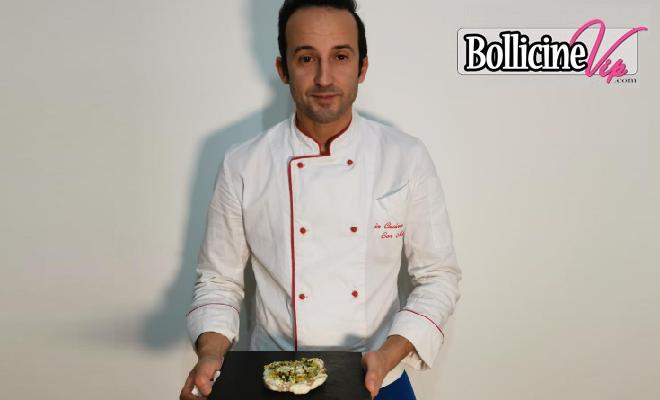 Marino Chef in mutande, Rana Pescatrice in crosta di pistacchi e mandorle