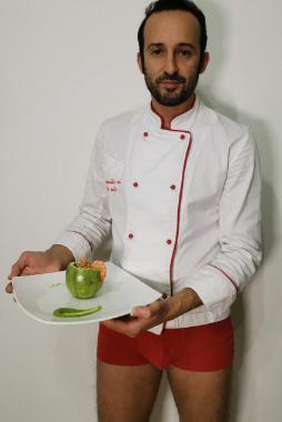 Marino, Cocktail di orzo, zucchine e gamberetti