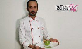 Marino chef in mutande, Cocktail di orzo, zucchine e gamberetti