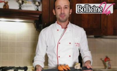 Marino chef in mutande, Turbante di sogliola con farina di mandorle, pinoli e pistacchi