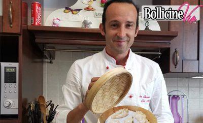 Ravioli cinesi di carne al vapore, Marino chef