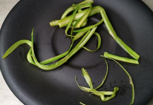 Fascetta di asparagi