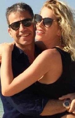 Alessia Marcuzzi e Paolo Calabresi