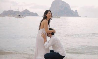 Ludovica Valli, incinta