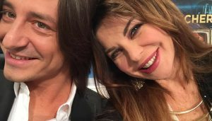Francesco Maria Oppini e Alba Parietti