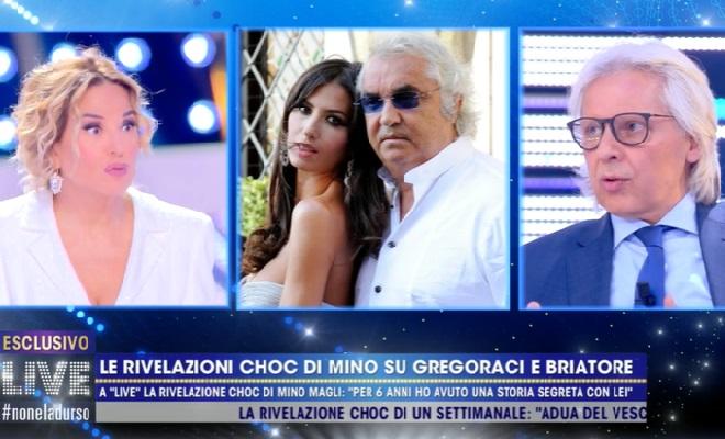 Mino Magli e Gregoraci, relazione segreta
