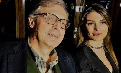 Francesca Pepe e Vittorio Sgarbi