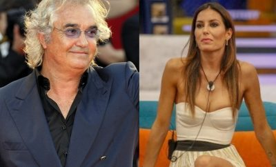 Elisabetta Gregoraci e Flavio Briatore
