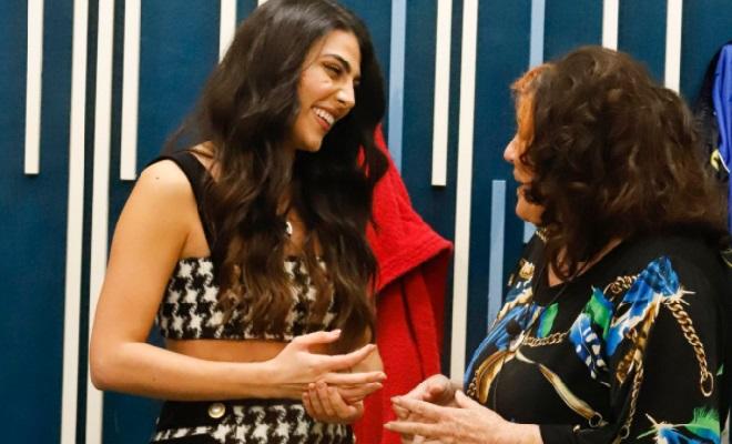 Giulia Salemi e Patrizia De Blanck