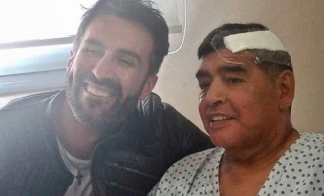Matias Morla e Maradona