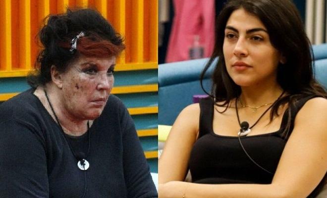 Patrizia De Blanck contro Giulia Salemi