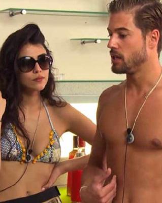Abraham Garcia e Giulia Salemi
