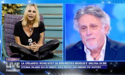 Andrea Roncato e Stefania Orlando
