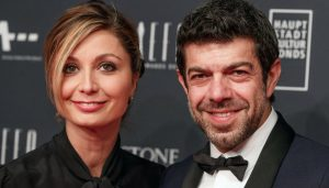 Pierfrancesco Favino e Anna Ferzetti Bollicine Vip