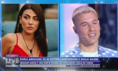 Abraham Garcia Arevalo e Giulia Salemi