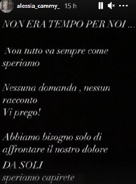 Alessia Cammarota annuncio