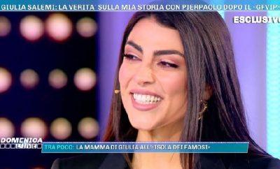 Giulia Salemi a Domenica Live